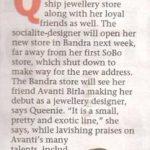 Mumbai Mirror,22nd November 2017